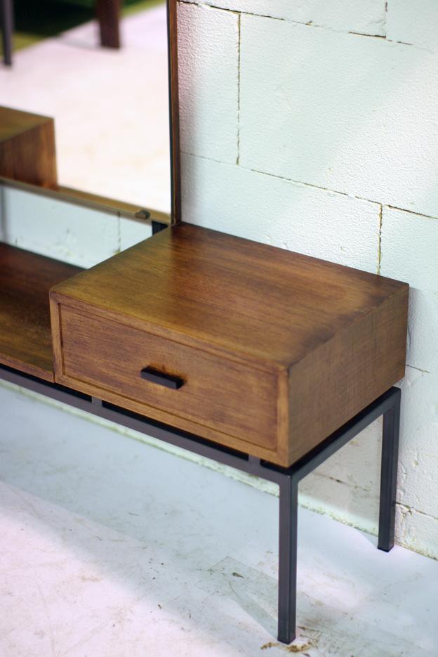 Retro vintage make up meubel jaren 60 pastoe dehuiszwaluw for Jaren 60 meubelen