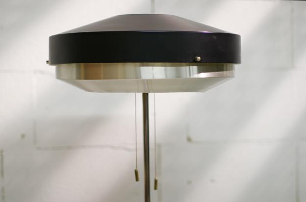 Spiksplinternieuw TOP! Gispen, Hiemstra staande lamp metaal Retro Vintage – Dehuiszwaluw XV-44