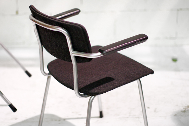 Retro Vintage Gispen stoelen met armleuning  u2013 Dehuiszwaluw
