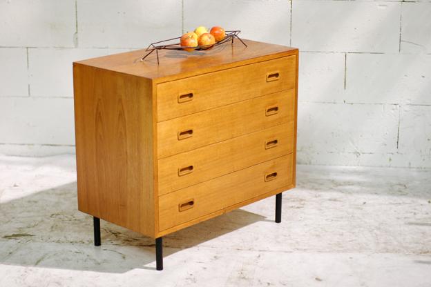 ... Vintage teakhouten ladekast of dressoir(tje) jaren 60 u2013 Dehuiszwaluw