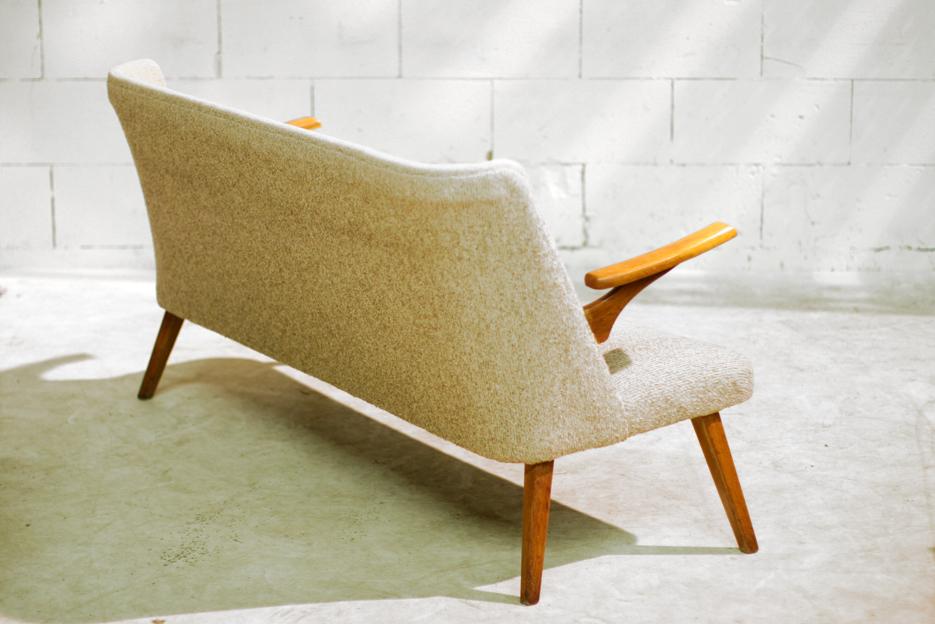 Retro vintage bank uit de jaren 50 subliem ontwerp! u2013 dehuiszwaluw