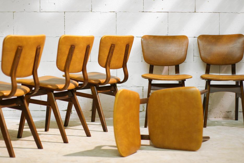 Retro Vintage stoelen uit de jaren 50 u2013 60 : Dehuiszwaluw