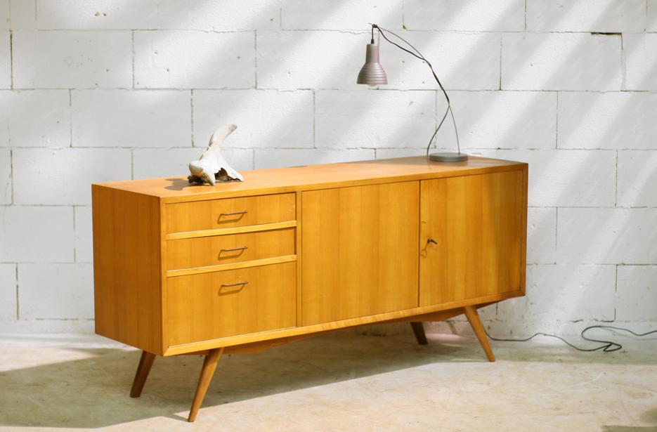 retro vintage dressoir strak en toch elegant jaren 60