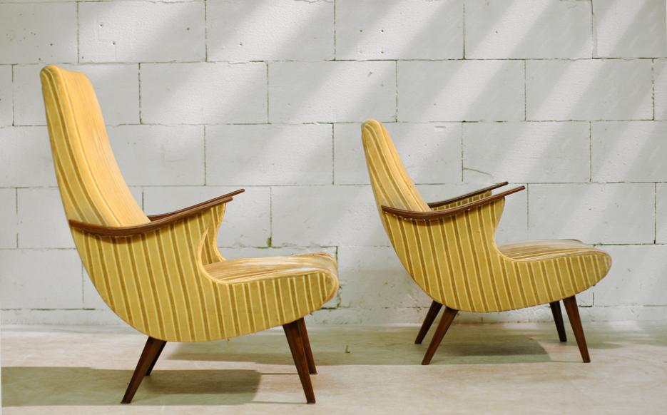 retro vintage top ontwerp fauteuils jaren 50 60 dehuiszwaluw. Black Bedroom Furniture Sets. Home Design Ideas
