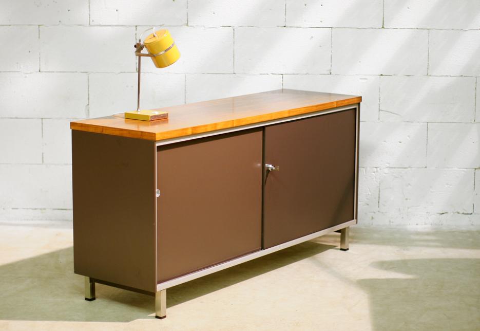 Industriele Vintage Gispen dressoir Cordemeijer AZ  u2013 Dehuiszwaluw