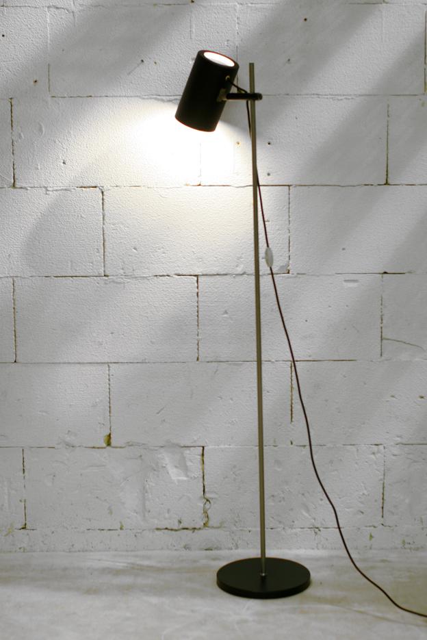 Retro Vintage stilistische lamp Raak? matzwart en chroom – Dehuiszwaluw