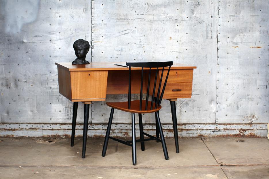Prachtig retro vintage dames bureau jaren 60 dehuiszwaluw for Bureau retro