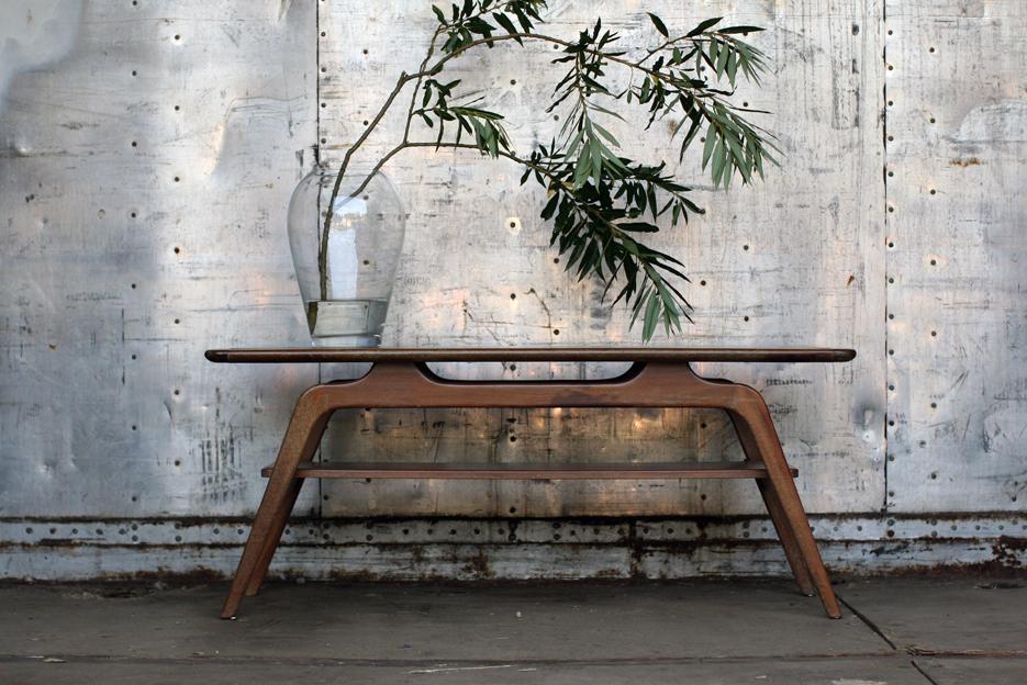 Betere Retro Vintage salontafel jaren 60 prachtvorm – Dehuiszwaluw WI-87
