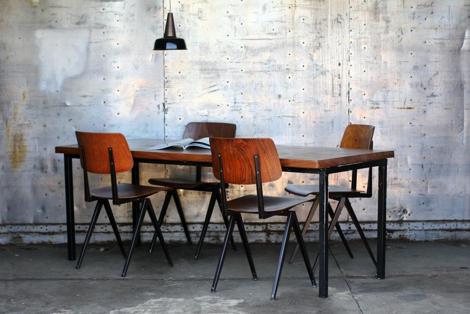 Industriele tafel marktplaats: ≥ industriele tafel eettafel