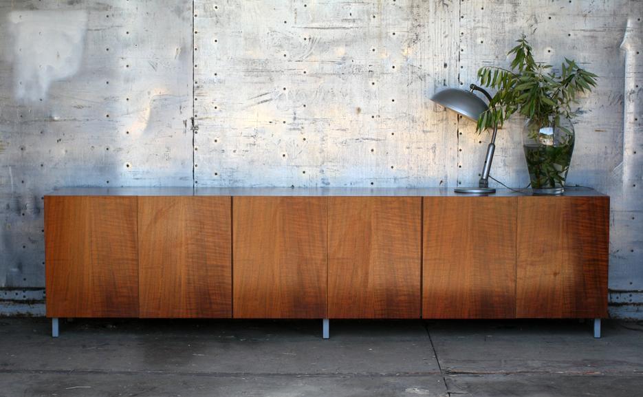 Laag woonkamer wandkast - Oude meubilair dressoir ...