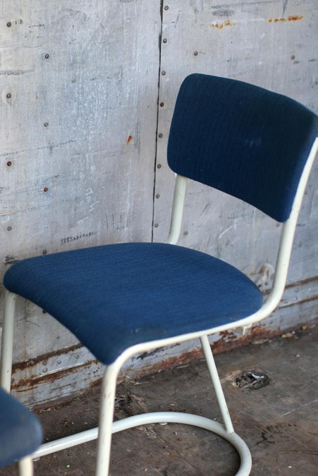 2 Industrieel Vintage Gispen stoelen uit de jaren 50  u2013 Dehuiszwaluw