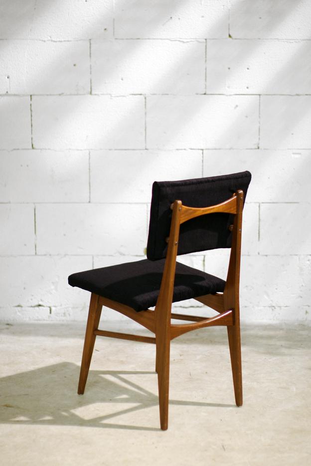 Retro vintage stoel jaren 60 opnieuw gestoffeerd dehuiszwaluw - Stoel nieuwe kunst ...