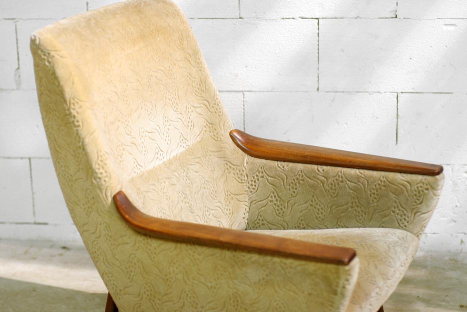 Top retro vintage fauteuil bovenkamp jaren 50 60 dehuiszwaluw - Comfortabele fauteuil ...