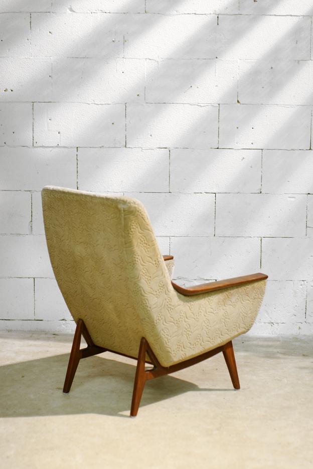 Top retro vintage fauteuil bovenkamp jaren 50 60 dehuiszwaluw - Zeer comfortabele fauteuil ...