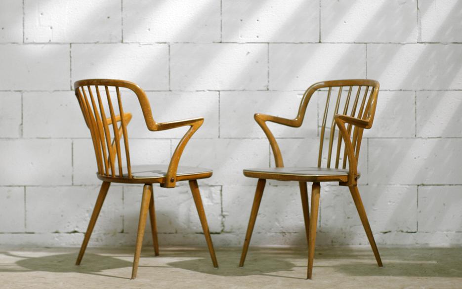 Jaren 50 Stoel : Stylistisch vorm gegeven retro vintage stoelen jaren 50 u2013 dehuiszwaluw