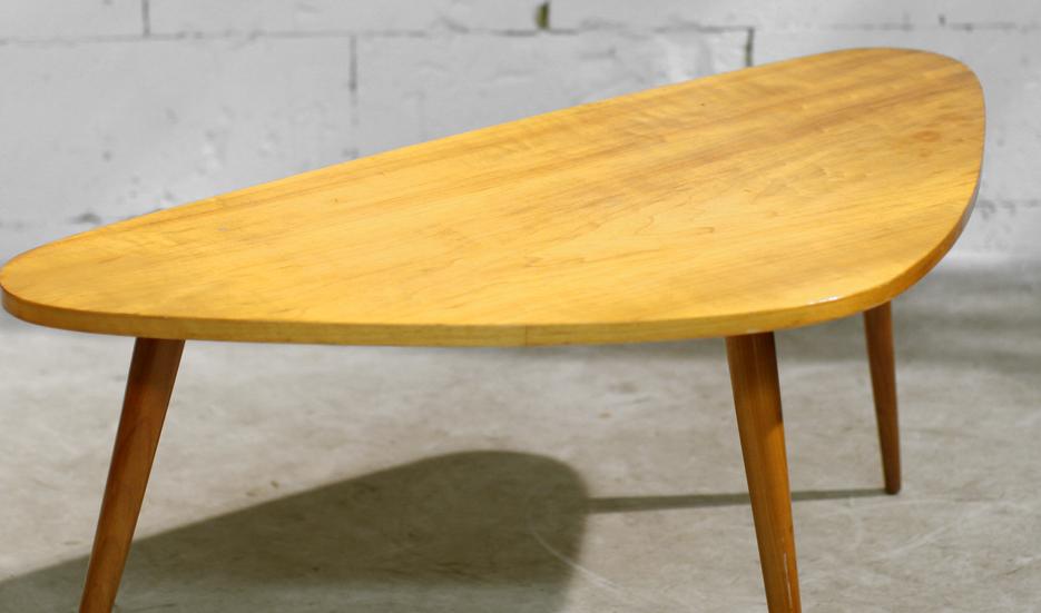 Retro Vintage Niervormige salontafel Gelderland? jaren 50  u2013 Dehuiszwaluw