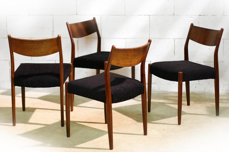 Retro vintage top stoelen opnieuw bekleed jaren 60 for Vintage stoelen