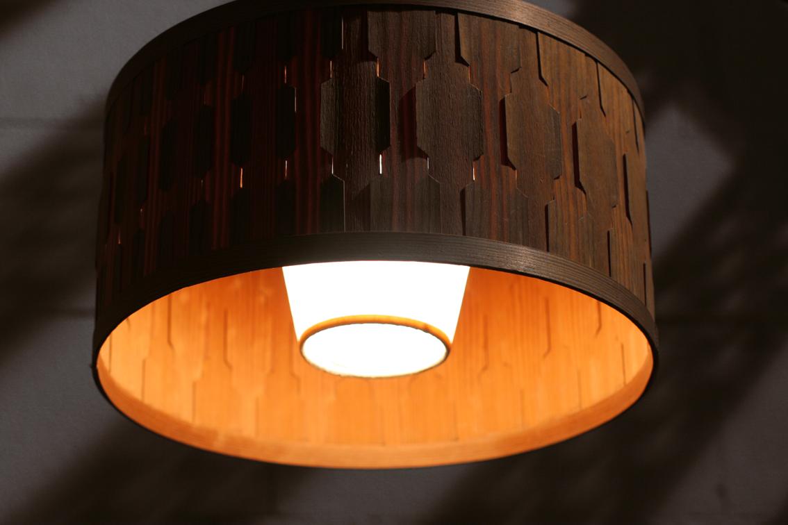 Retro Vintage Noorse houten hanglamp jaren 60 Nr.1 u2013 Dehuiszwaluw