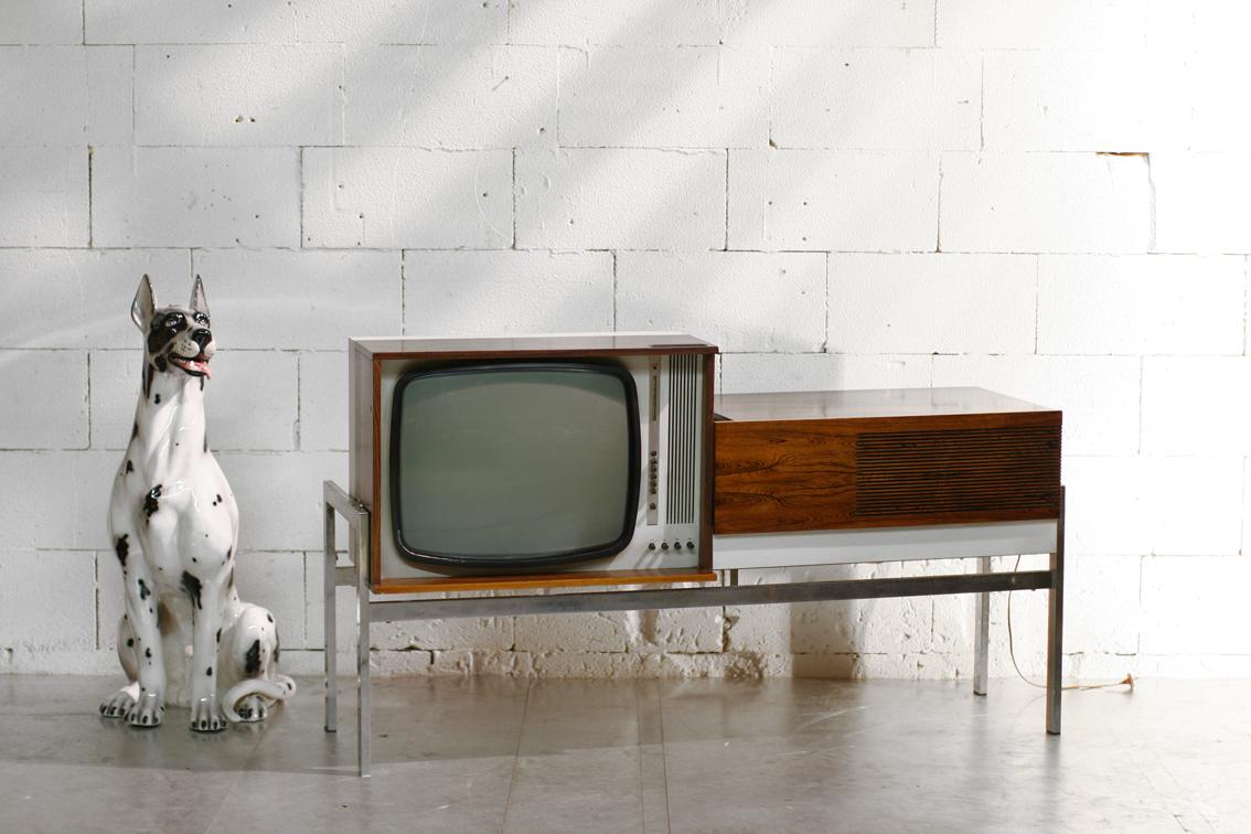 Vintage tv meubel metaal: ≥ audiomeubel tv kast industrieel metaal