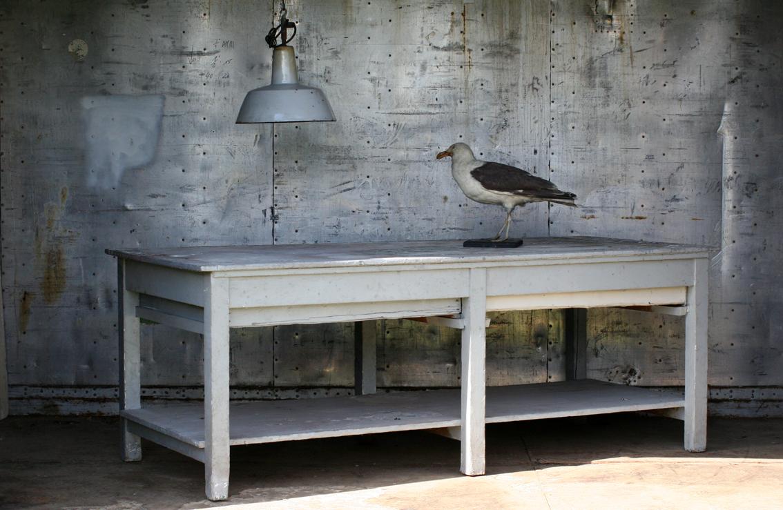 Keukentafel industrieel: industrieel interieur design ontwerp.