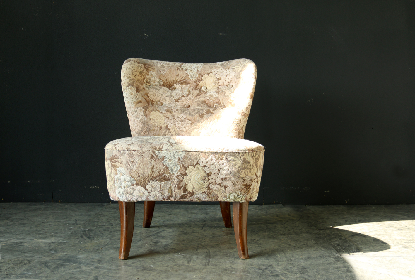 Cocktail Stoel Vintage : Retro vintage theo ruth artifort cocktail fauteuil topstaat