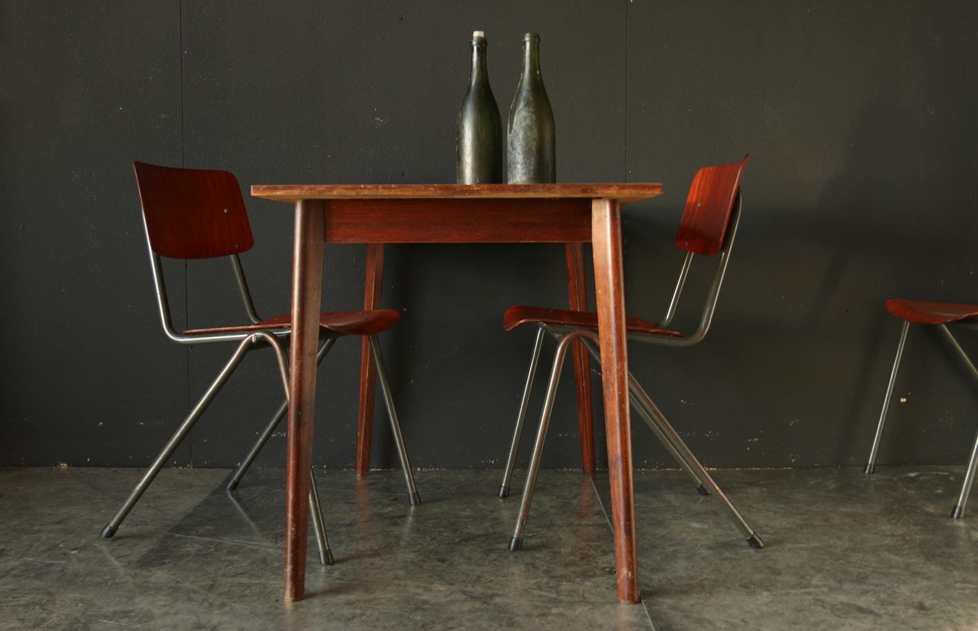 Retro vintage horeca cafe tafels jaren 50 dehuiszwaluw for Horeca tafels