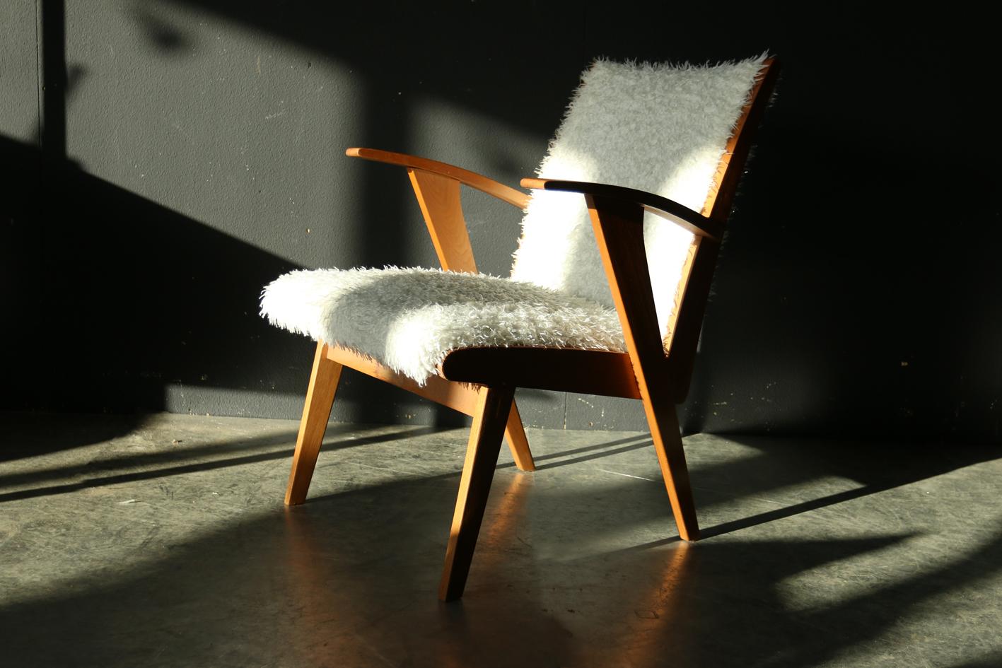 Schapenvacht Op Stoel : Hk living ijslandse schapenvacht stoel cover grijs nordic living