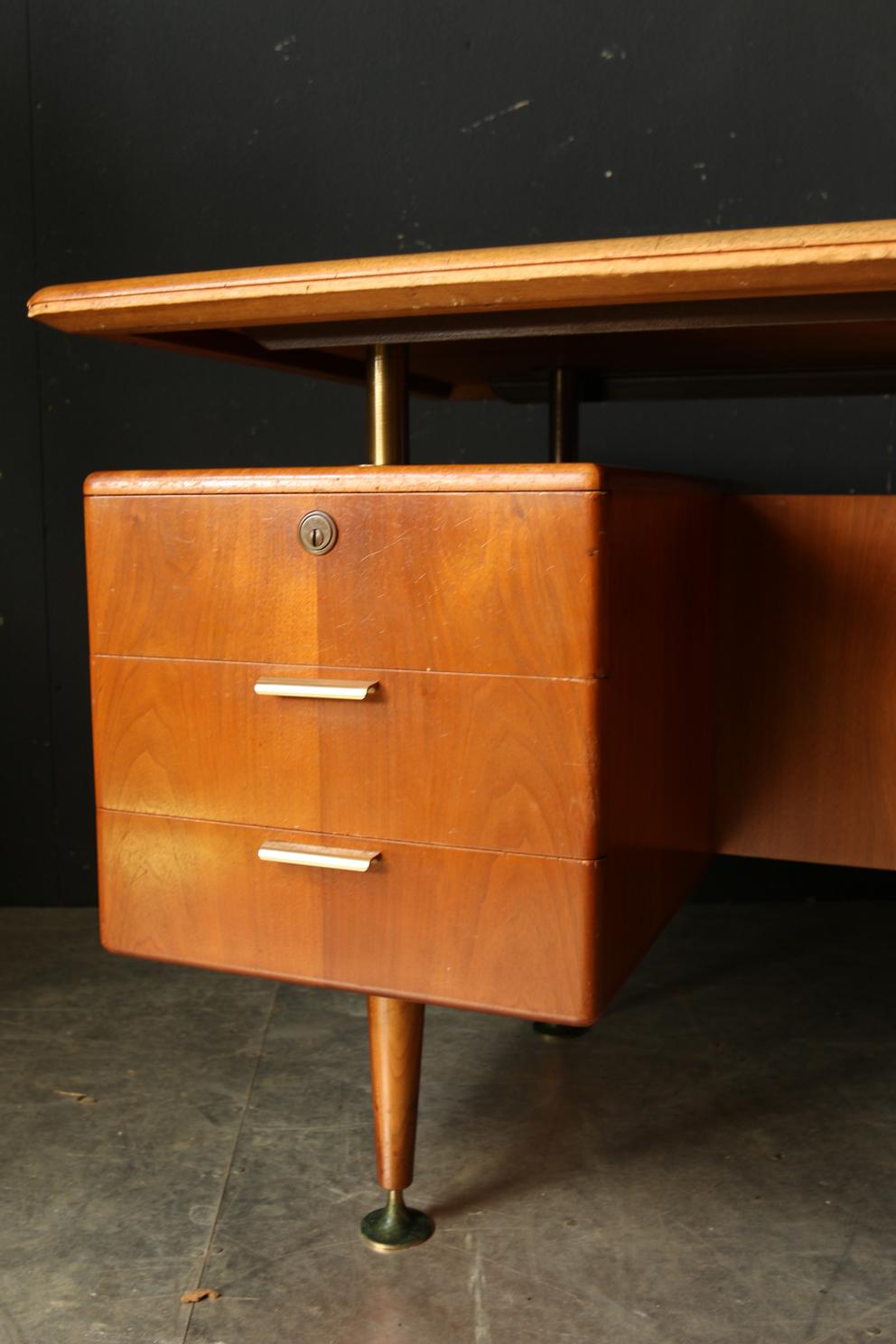 a a patijn retro vintage eclectisch bureau jaren 50 dehuiszwaluw. Black Bedroom Furniture Sets. Home Design Ideas