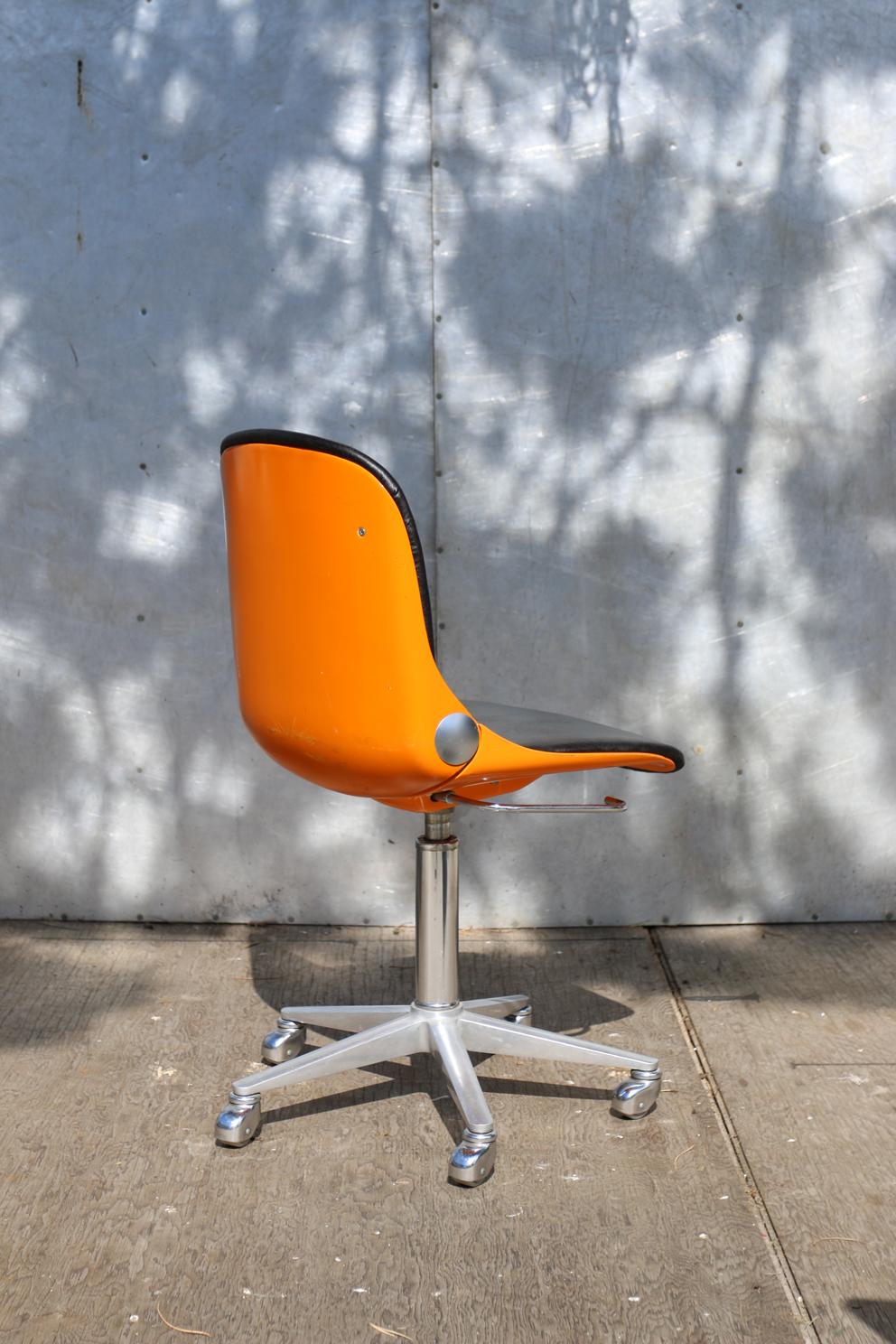 Retro vintage wilkhahn bureaustoel jaren 70 dehuiszwaluw for Bureaustoel vintage