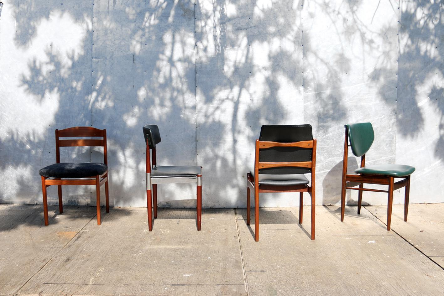 Retro Design Stoelen.4 Verschillende Retro Vintage Design Stoelen Jaren 60 Dehuiszwaluw