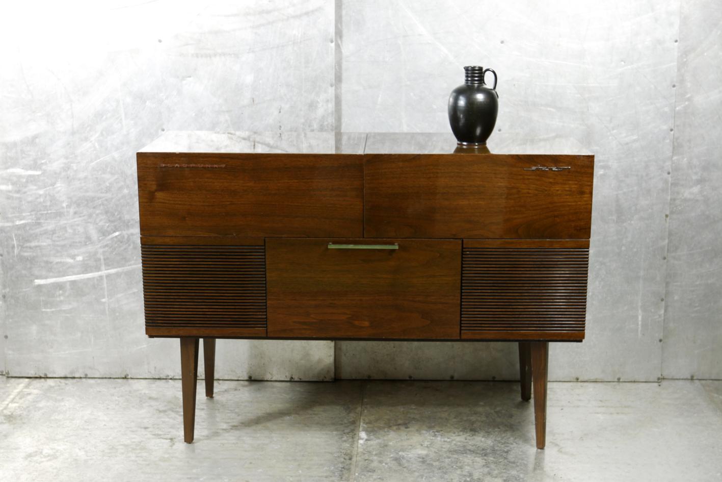 Audio Meubel Teak : Eclectisch vintage blaupunkt audiomeubel dressoir jaren