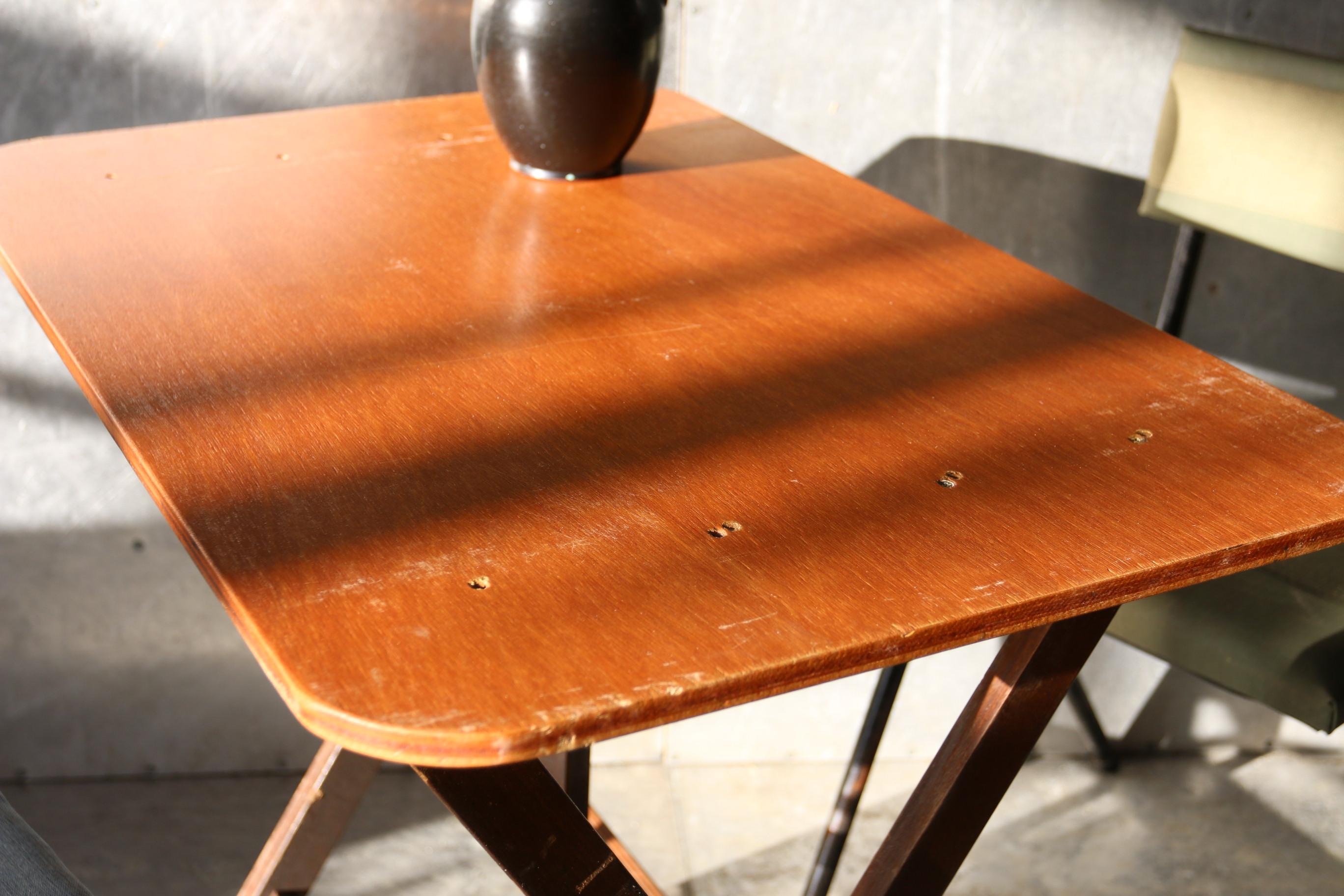 Jaren vintage klaptafels terrastafels bistro tafels nr