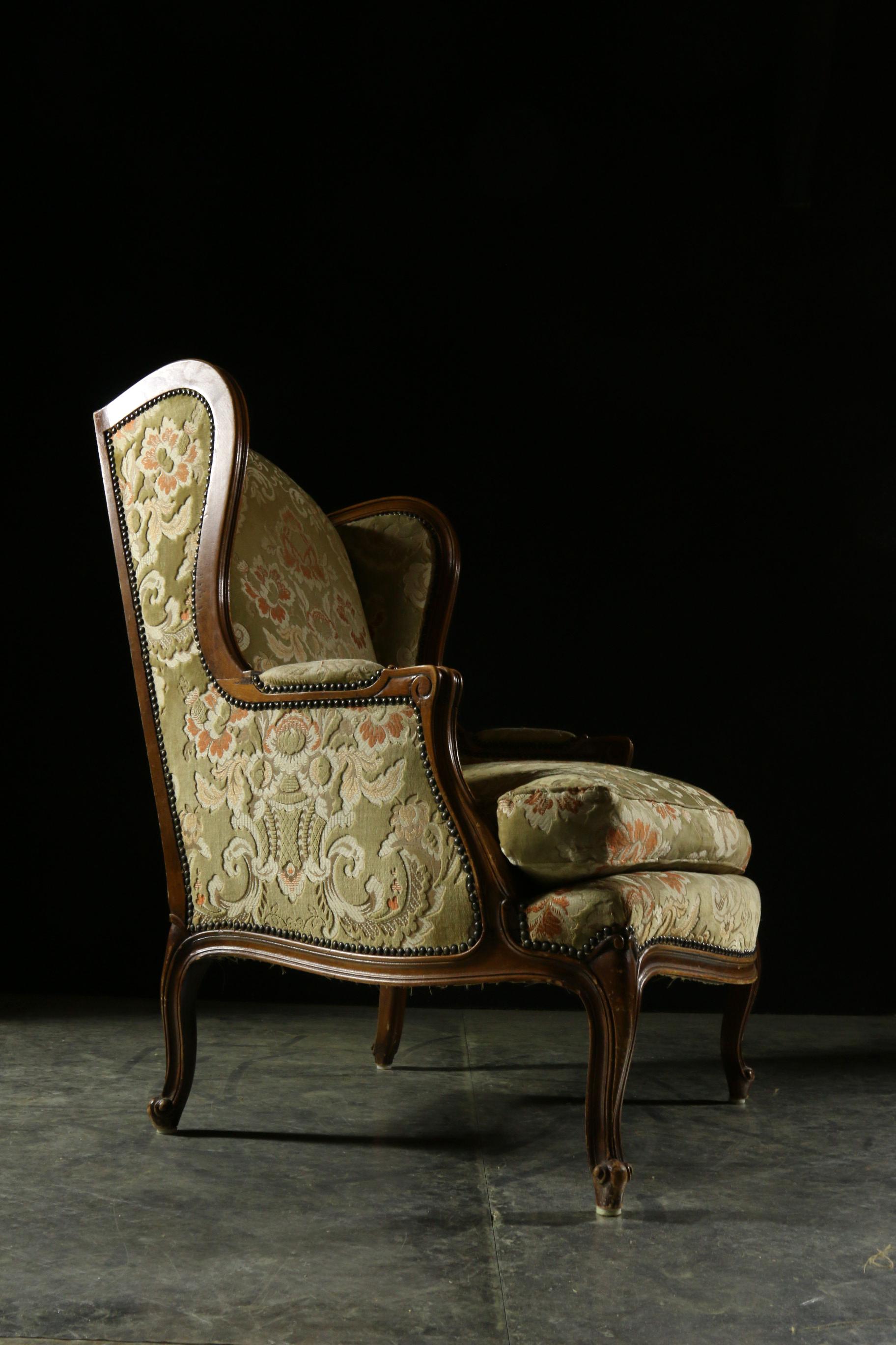 Eclectisch vintage fauteuil louis stijl mix match for Eclectische stijl interieur