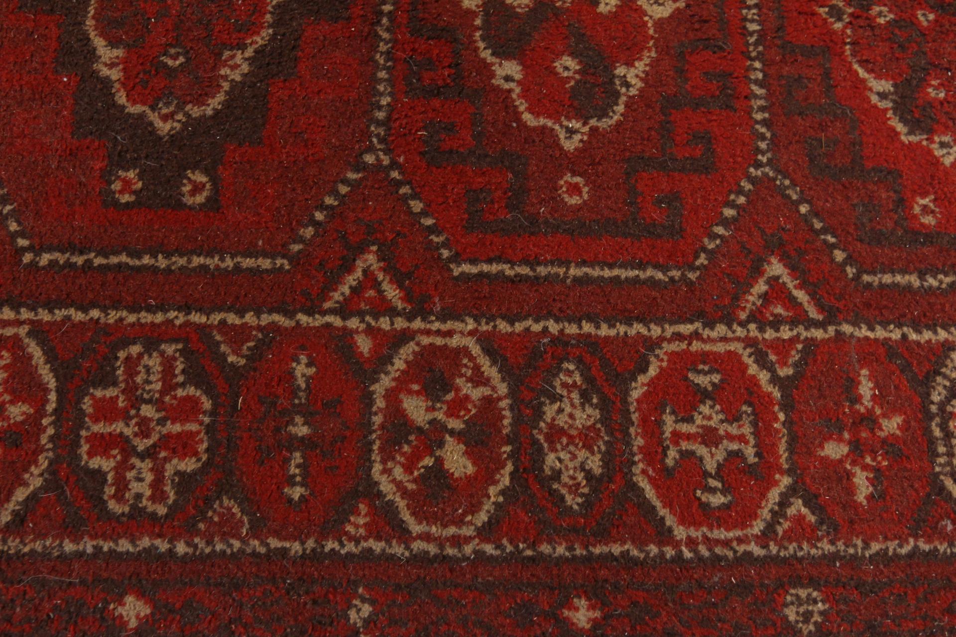 vintage art deco tapijt uit de jaren 30 40 mooie warme tinten en strakke vormen geweldig in een industrieel of eclectisch interieur