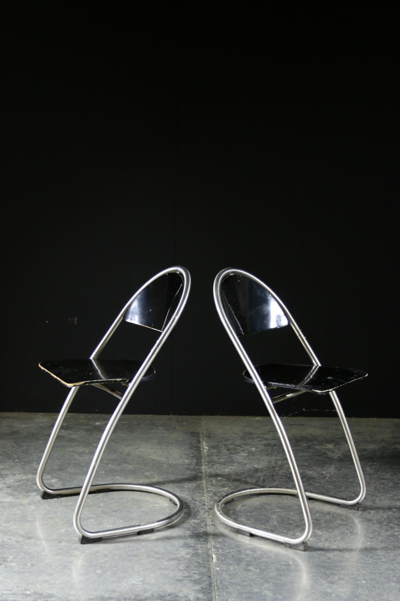 Bijzondere Design Stoelen.Zeer Bijzondere Vintage Design Buisframe Stoelen Dehuiszwaluw