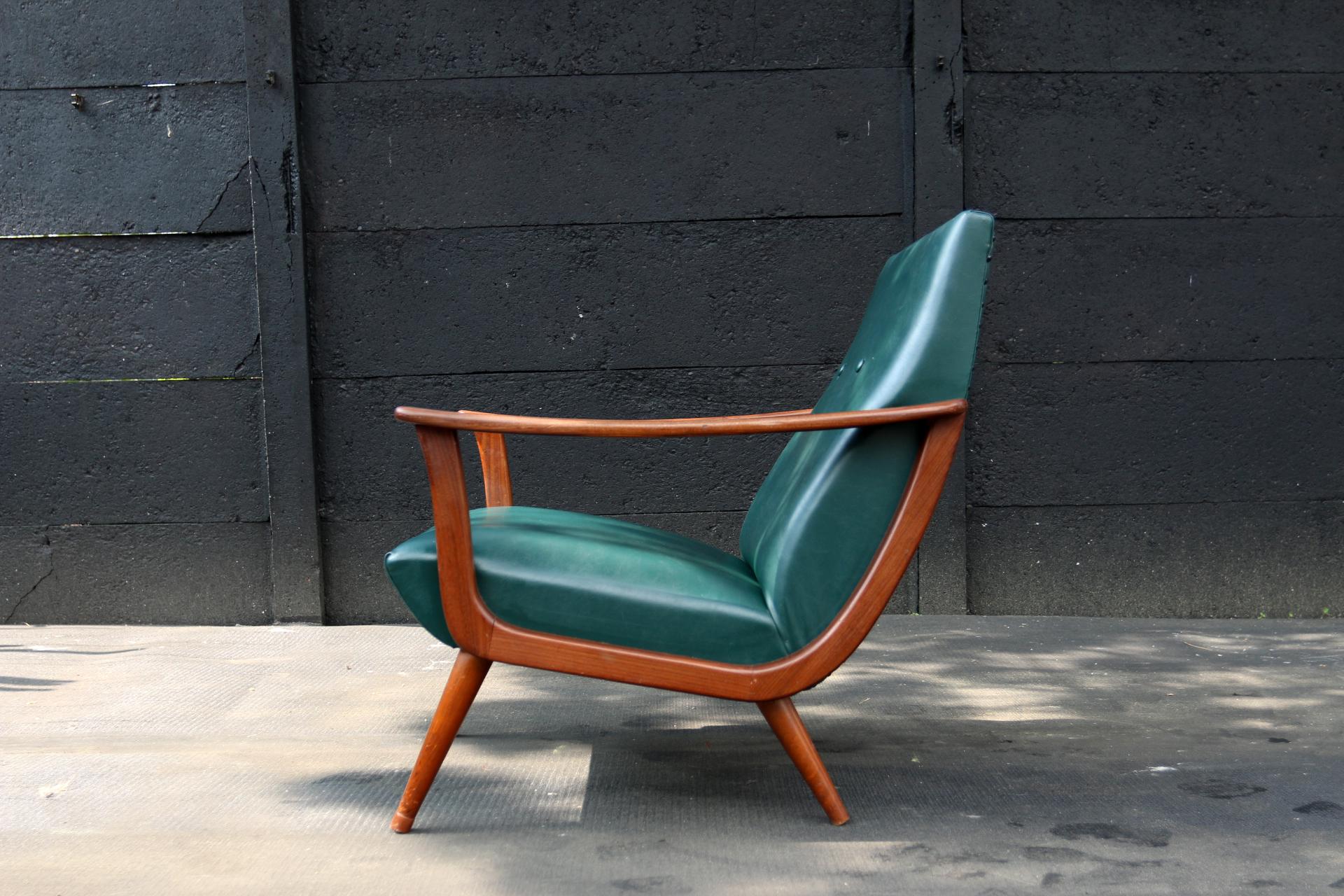 Wonderlijk Vintage Design Fauteuil. Elegant Fauteuil Designer Cuir Design WS-71