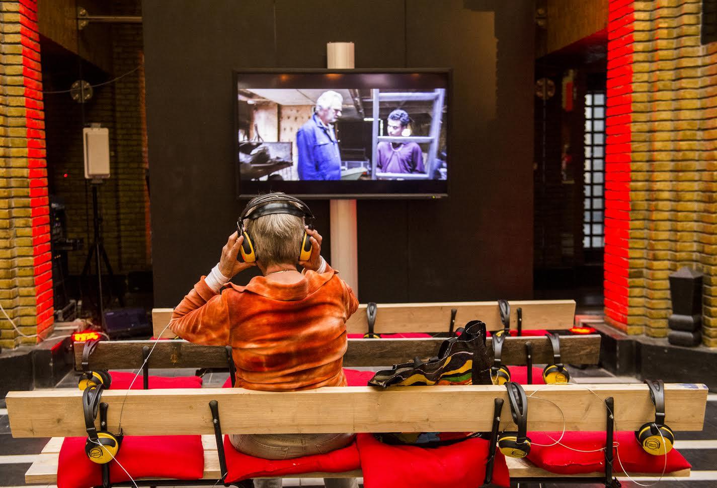 UTRECHT, 30-09-2015 - NFF. Nederlands Film Festival. Silent Cinema in het festivalhart op de Neude. FOTO DESIREE SCHIPPRES