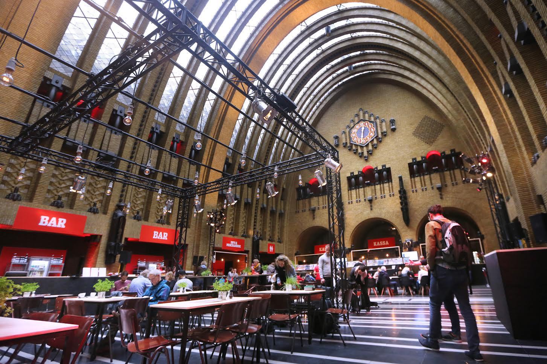 20150924 - Utrecht - Foto: Ramon Mangold - NFF/ Nederlands Film Festival 2015 - Festivalhart in het Oude Postkantoor aan de Neude.