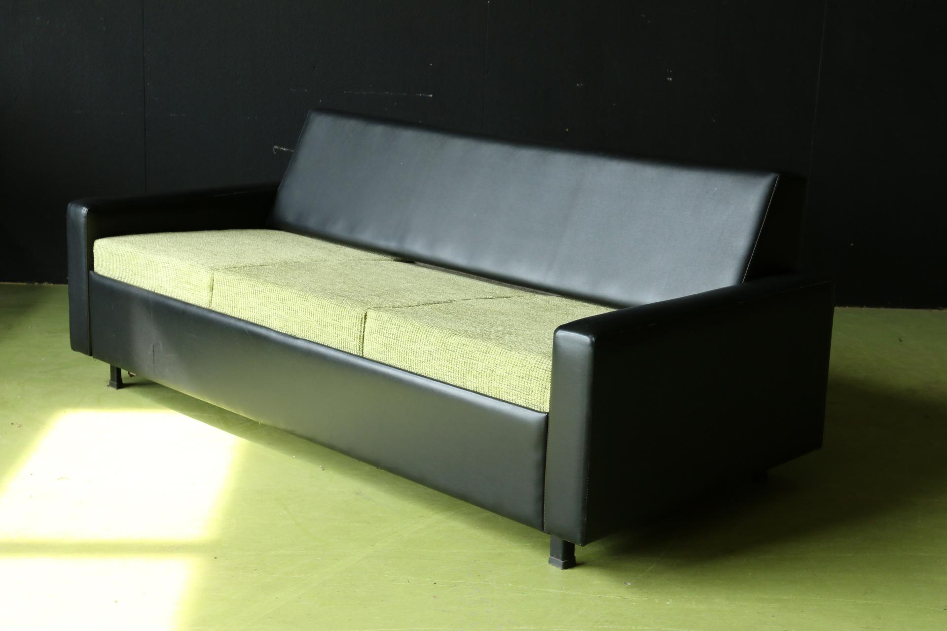 Top vintage design 2 persoons bedbank slaapbank jaren 60 u2013 dehuiszwaluw