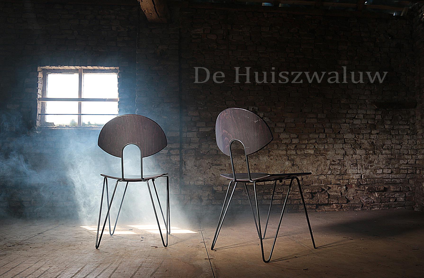 Retro Design Stoelen.Vintage Design Kusch Co Stoelen Met Luspoten Dehuiszwaluw