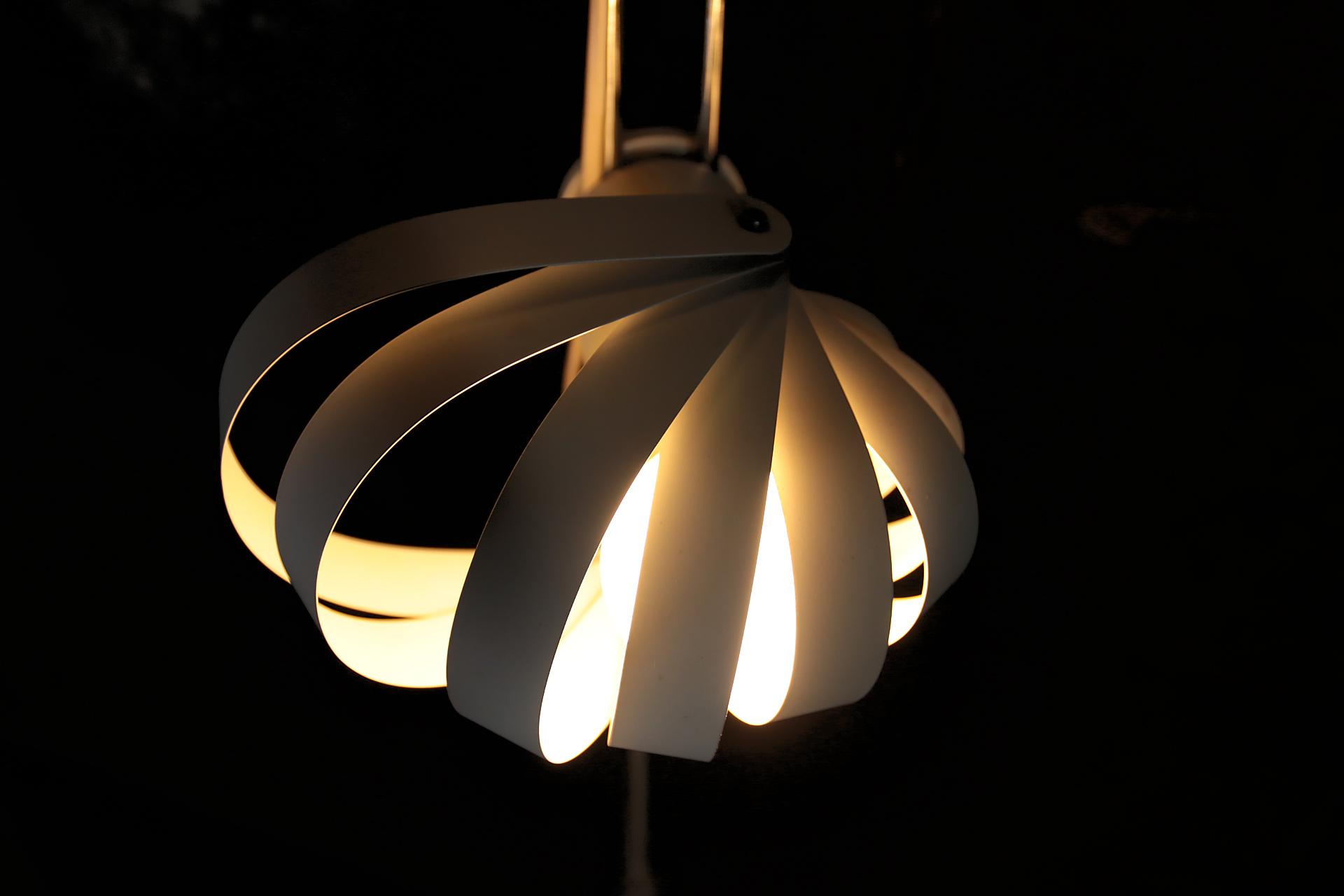 Vintage design staande lamp met lamellen u dehuiszwaluw